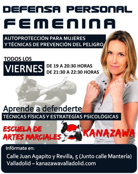 Clases de Defensa Personal Femenina